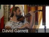 Дэвид Гарретт играет на скрипке il Cannone Николо Паганини
