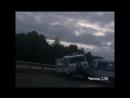 Авария под Казанью: полицейская машина врезалась в другую полицейскую.