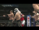 Kanemaru Michinoku Taichi Desperado vs Jushin Liger Tiger Mask Taguchi and Umino NJPW The New Beginning 2018 in Sapporo