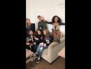 Трансляция в Инстаграме канала Никелодеон 23 февраля 2018