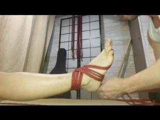 Tuto Shibari Foot harness Seb Kinbaku Shibari Artist