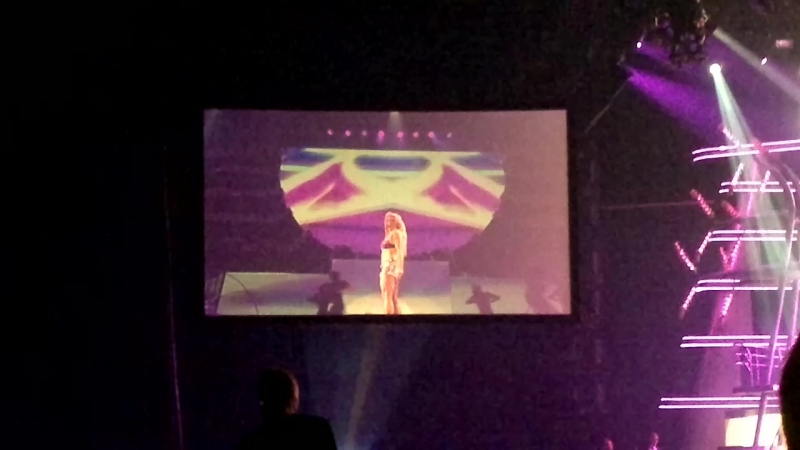 Britney Spears Live in Moscow 24/09/2011 Womanizer