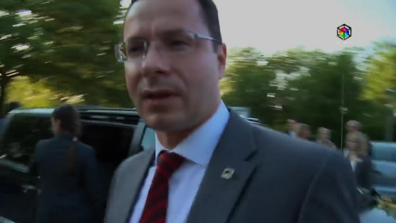 На кортеж президента Литвы Грибаускайте в США напали сторонники Драсюса Кядиса. 2012.05.18