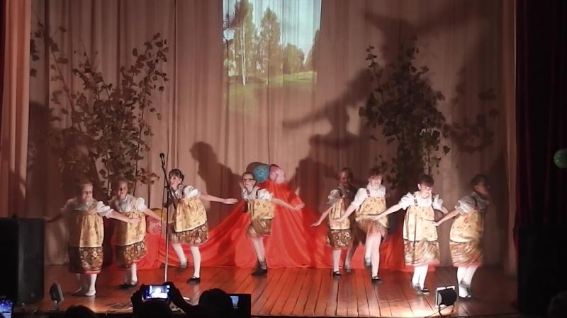 Концерт в д.Ручьи ДК танец В роще калина 13.10.17