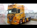 Шикарный тюнинг SCANIA ⁄ Luxury tuning SCANIA trucks