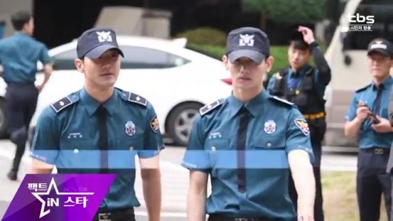 [팩트직캠] 동방신기 최강창민 슈퍼주니어 최시원 전역현장 (TVXQ ChangMin SUPERJUNIOR Choi Si Won
