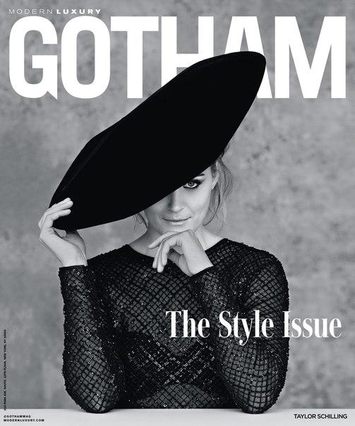 Тейлор Шиллинг в фотосесии для мартовского выпуска Gotham / 2018
