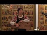 Варвара Котова. Выставка икон в музее им. Андрея Рублева