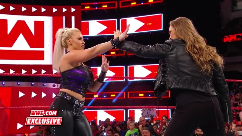Ronda Rousey makes short work of Dana Brooke Raw Exclusive March 19 2018