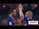Иньеста сыграл последний матч за Барселону