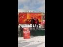 Выступление первого секретаря Санкт-Петербургского ГК ЛКСМ РФ Е.В. Михайлова в День Советской армии и Военно-морского флота