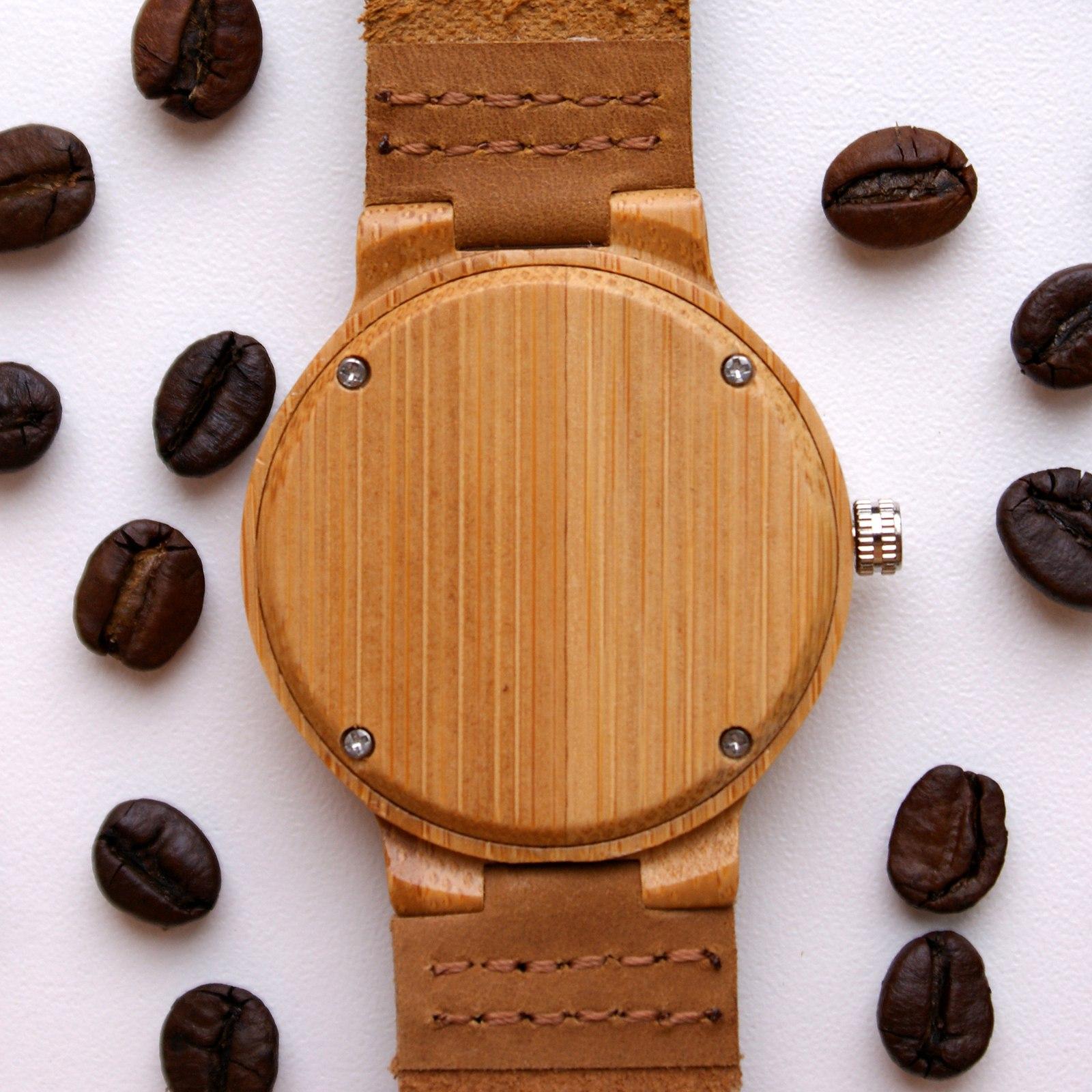 Бамбуковые часы Sonorous - стильный аксессуар за 115