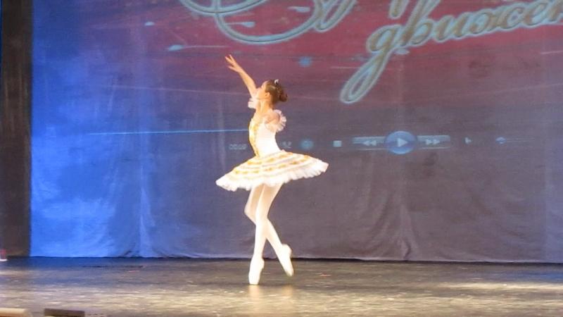 Вариация Феи Нежности из балета Спящая красавица. Садыкова Дина,11 лет