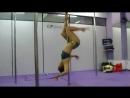 Гимнастка против стриптизерши Dance battle