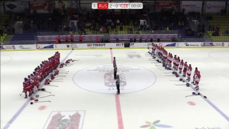 Хоккеистки России заставили смолкнуть трибуны, освистывающие российский гимн Ж