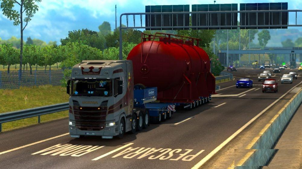 100 TON FOR SPECIAL TRANSPORT 1.31