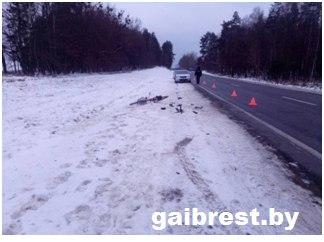 Барановичский район: водитель совершил наезд на велосипедистку и скрылся с места ДТП