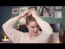 Видеоурок красоты- быстрый пучок на влажных волосах