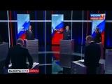Скандал в прямом эфире! Собчак облила Жириновского водой за фразу
