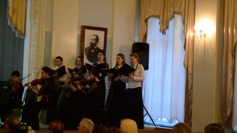 отчетный концерт :Вокального отделения stabat mater (3)