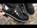Чёрное и белое, остальное краски. Ваши эмоции все за вас скажут. Качественная обувь, для девушек!
