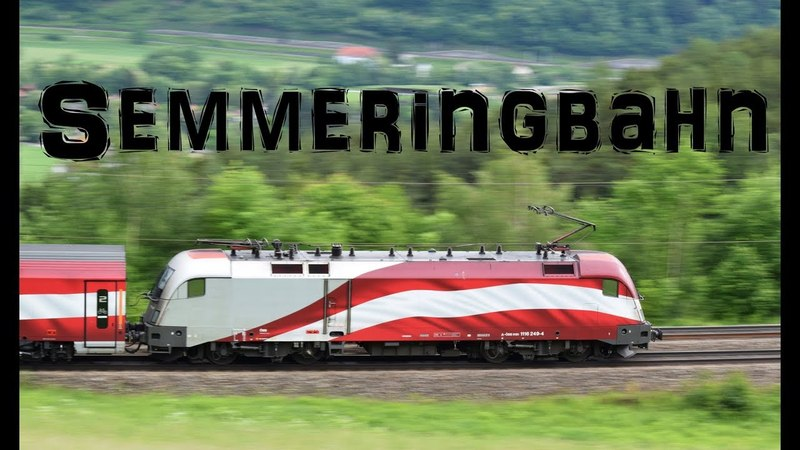 Vlaky/Trains/Züge semmeringbahn