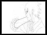 Саске и сакура пара из аниме мультика наруто