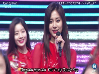 180202 TWICE - Candy Pop @ MUSIC STATION