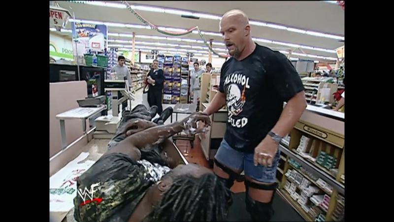 Stream! WWF Smack Down от 13 декабря 2001 года c участием Стива Остина, Рока, Криса Джерико и других звезд