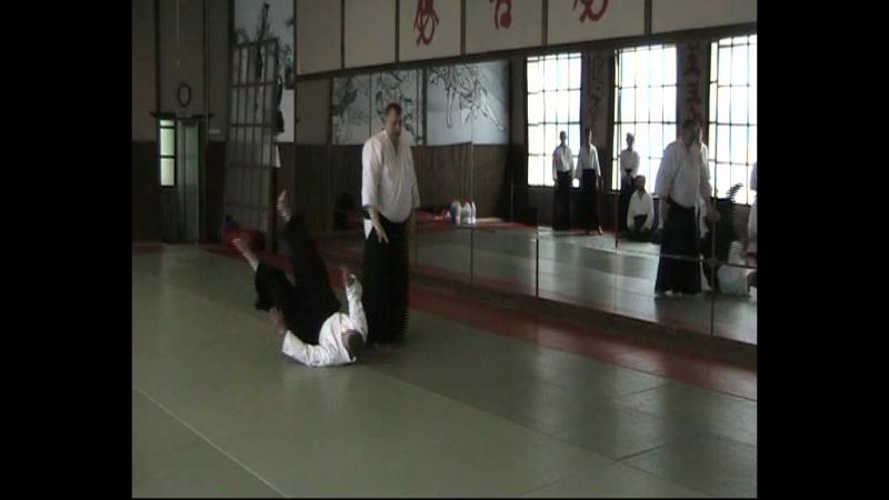 Yokomen Uchi Iriminage henka wasa