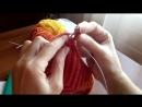 Вязание джураба.