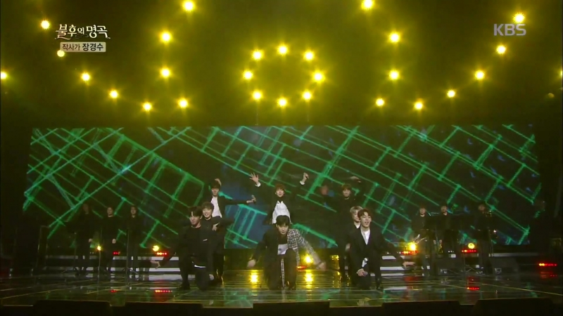 UNB - Note of Youth (Yoo Mi Ri) IMMORTAL SONGS 20180317