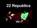 Russia-Russian Federation- 85 Russian Federal Subjects-Russia Geography