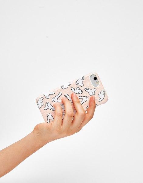 Чехол с изображением лап Микки-Мауса для iPhone 6/6s/7