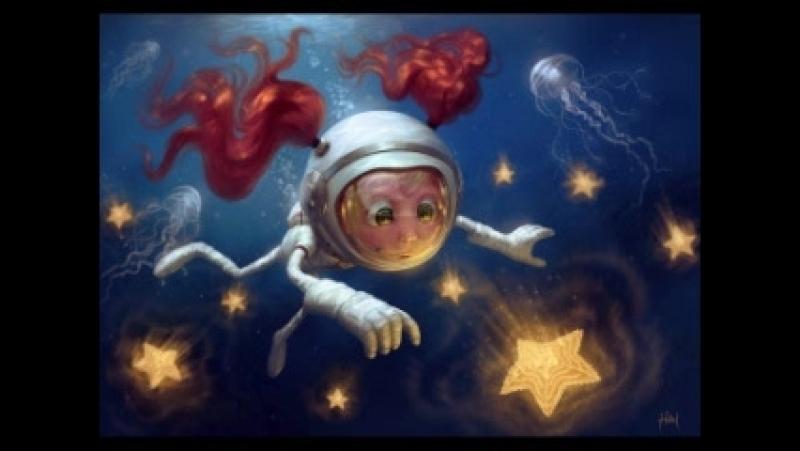 Любен Дилов - Звездные приключения Нуми и Ники. Часть 1 [ Детская фантастика. Евгения Ионкина ]