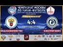 НМФЛ Лига Чемпионов Федеральное Казначейство Бэкстрит Бойз 4 4