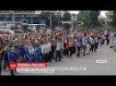 Півтисячі чиновників Запоріжжя взяли участь у масштабній руханці просто неба
