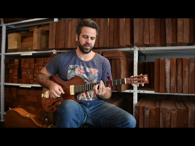 Brothers in Arms (Dire Straits) solo fingerstyle by Yoni Schlesinger BG Little Sister