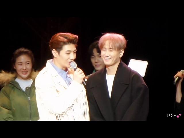 20180211 뮤지컬 올슉업 총막공 커튼콜데이 - 손호영, 박정아 캐스팅(휘성나오면 휘4