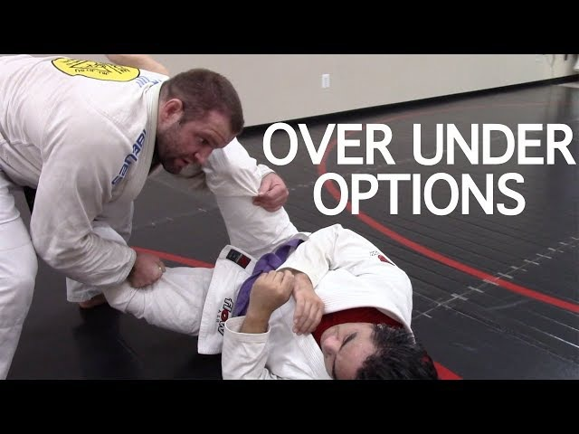 Open Guard Pass | Over Under Pass Options with Professor Jack Shellenberger, Salisbury, MD