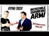 Hypno Trick...The Incredible Shrinking Arm! | Ideomotor Hypnosis Session | Derren Brown Hypnotism