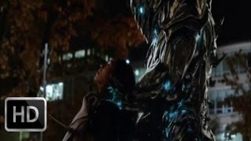 Флэш переносится в будущее и видит как Савитар убивает Айрис | Флэш (3х09) HD