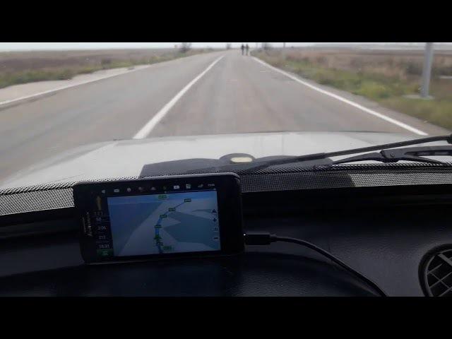 В КРЫМ ЗАПОРОЖЬЕ - ЯЛТА на автомобиле / Чонгар / Crimea