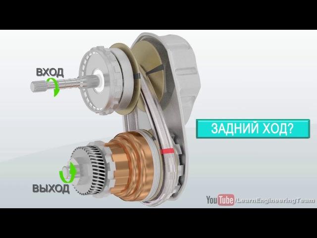 Устройство бесступенчатой трансмиссии вариатора