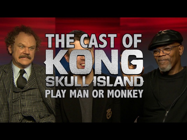 Play 'Man or Monkey' with Samuel L Jackson and the cast of Kong!!