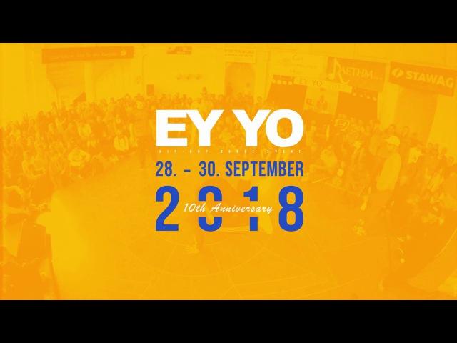 Ukay Moon K. vs Miracle Joe Dee | HIP-HOP 2nd Half Final | EY YO 2017