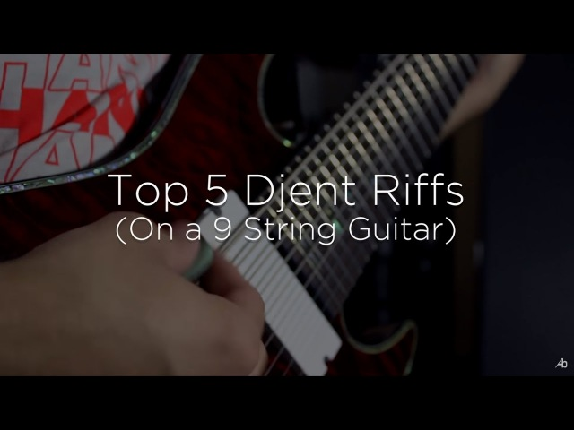 Top 5 Djent Guitar Riffs (On A 9 String Guitar)