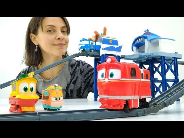 Роботы поезда в Детском садике капуки кануки