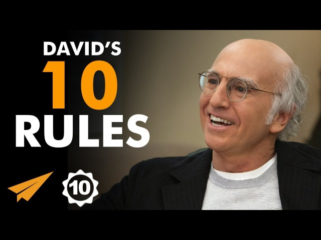 I Didn't KNOW That I Had ANY TALENT! - Larry David - Top 10 Rules