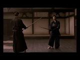 Takeshi Kitano bokken fight from movie Gohatto      Path of the Samurai